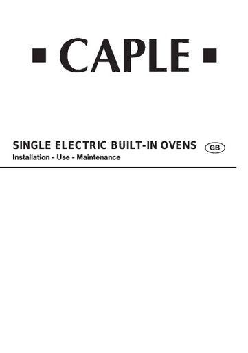 caple c2351 c2350 c2340 c2341 c2240 instruction manual rh northlondonappliancerepairs co uk Cell Phone User Guide Household Appliances
