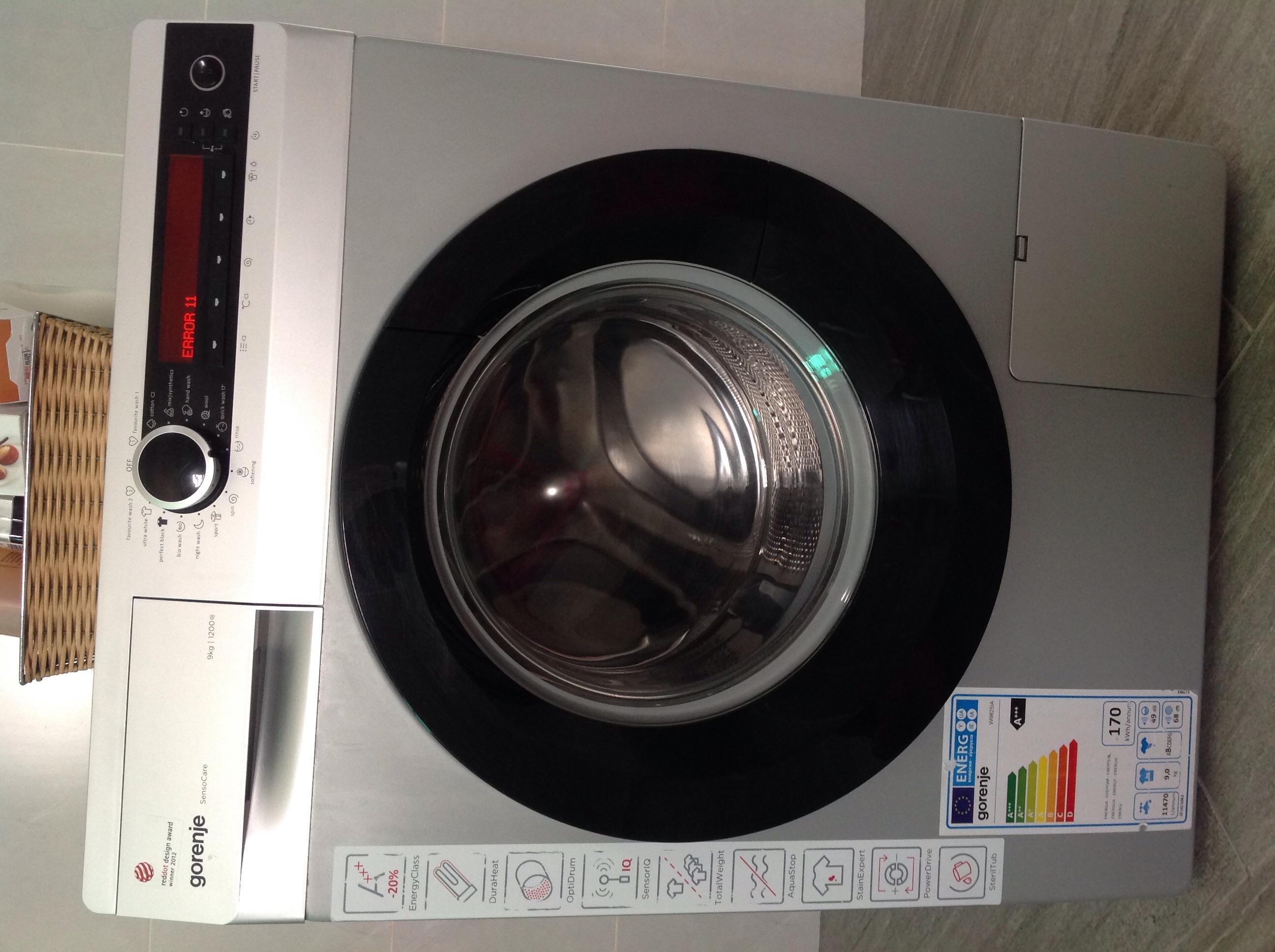 waschmaschine error 2