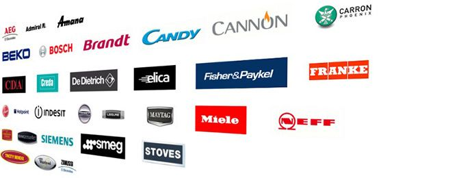 Amica Customer Service >> Brands We Repair - Fixed Price Appliance Repairs in London