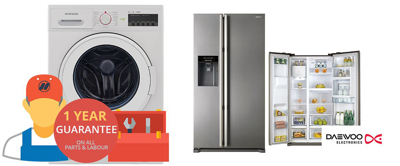 Daewoo Appliance Repairs, Servicing and Installations London