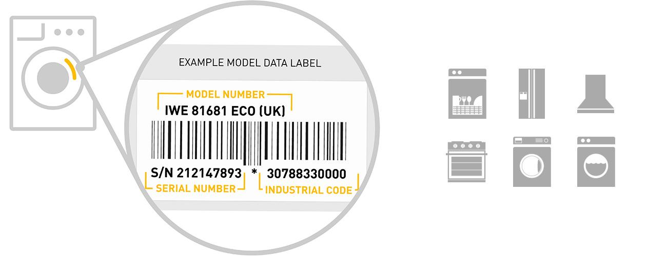 whirlpool washing machine serial number location