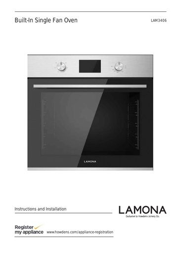 Lamona Dishwasher Manual